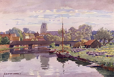 Beccles, on the Waveney, Suffolk