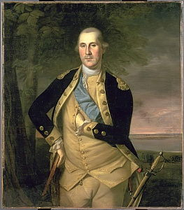 Portrait of George Washington, 1776