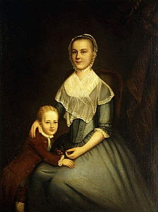 Portrait of Mrs Arbuckle and Son,