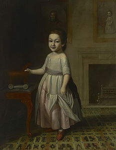 Portrait of a Boy with a Toy Horse, 1768