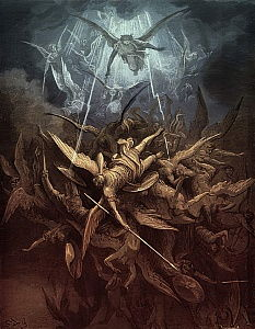 Paradise Lost: Fall of the rebel angels,