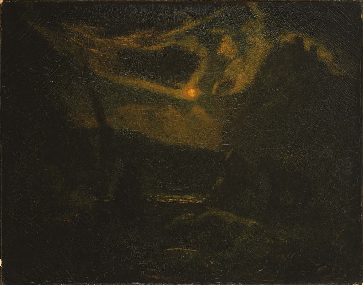 Macbeth and the Witches by Albert Pinkham Ryder