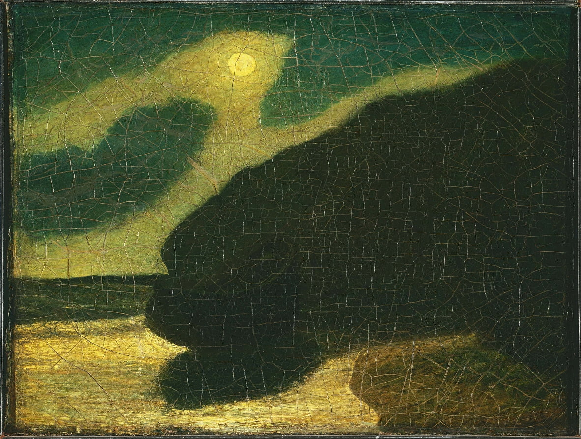 Moonlit Cove by Albert Pinkham Ryder