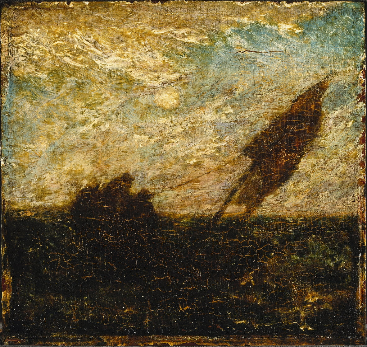 The Waste of Waters is Their Field by Albert Pinkham Ryder