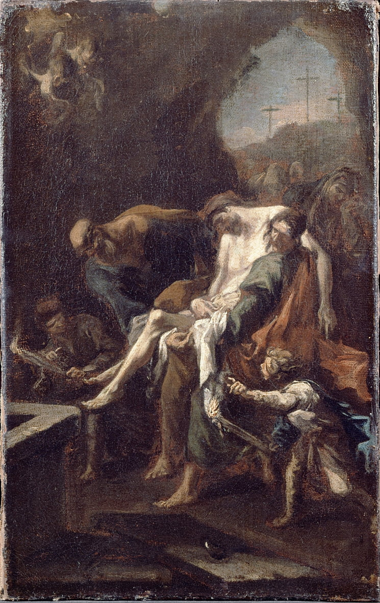 The Entombment of Christ by Alessandro Magnasco
