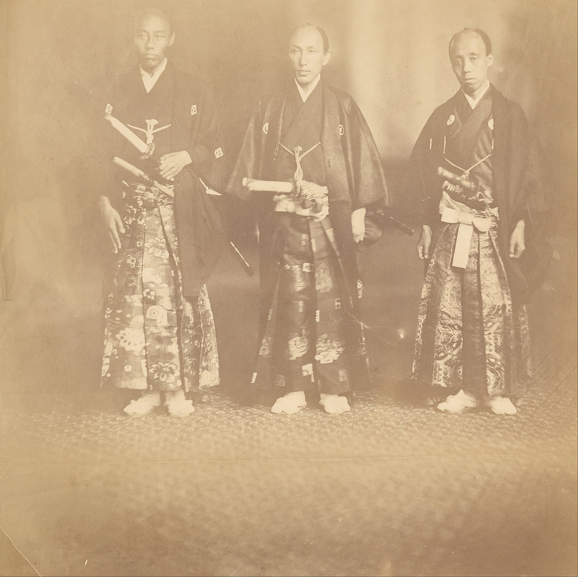 The Japanese Ambassadors, First Japanese Mission to the United States by Alexander Gardner