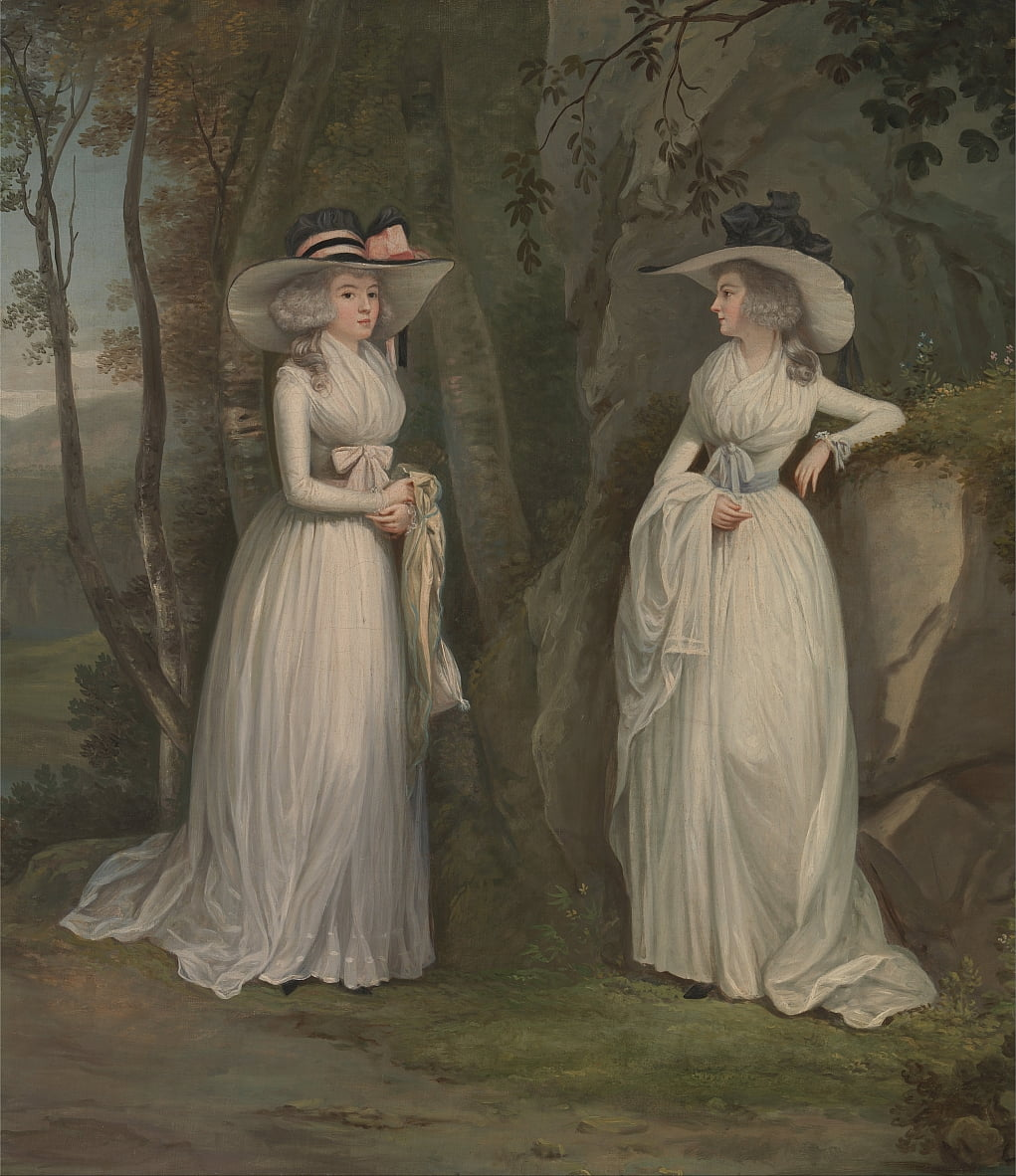 Eleanor and Margaret Ross by Alexander Nasmyth