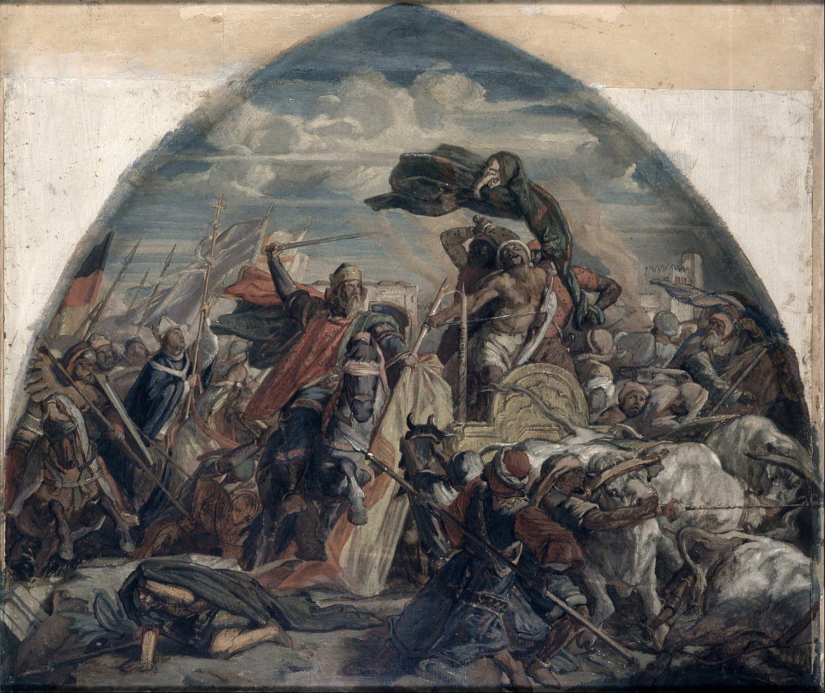 The Battle of Cordoba by Alfred Rethel