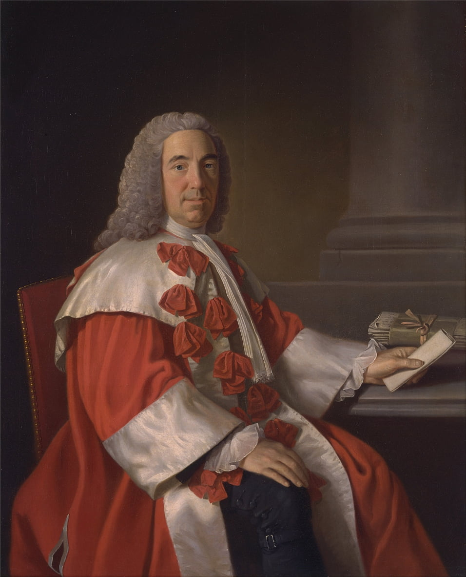 Alexander Boswell, Lord Auchinleck by Allan Ramsay