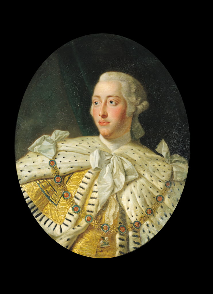 Portrait of King George III, after 1760  by Allan Ramsay