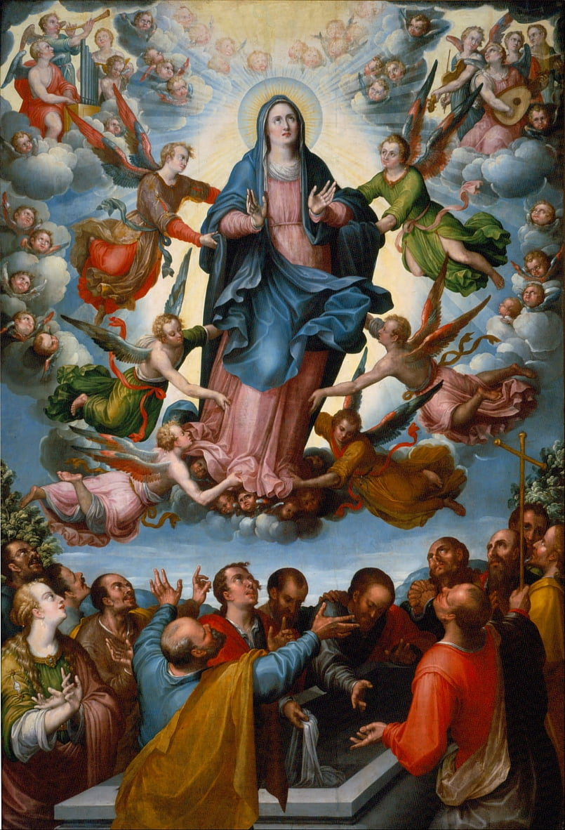 The Assumption of the Virgin by Alonso López de Herrera