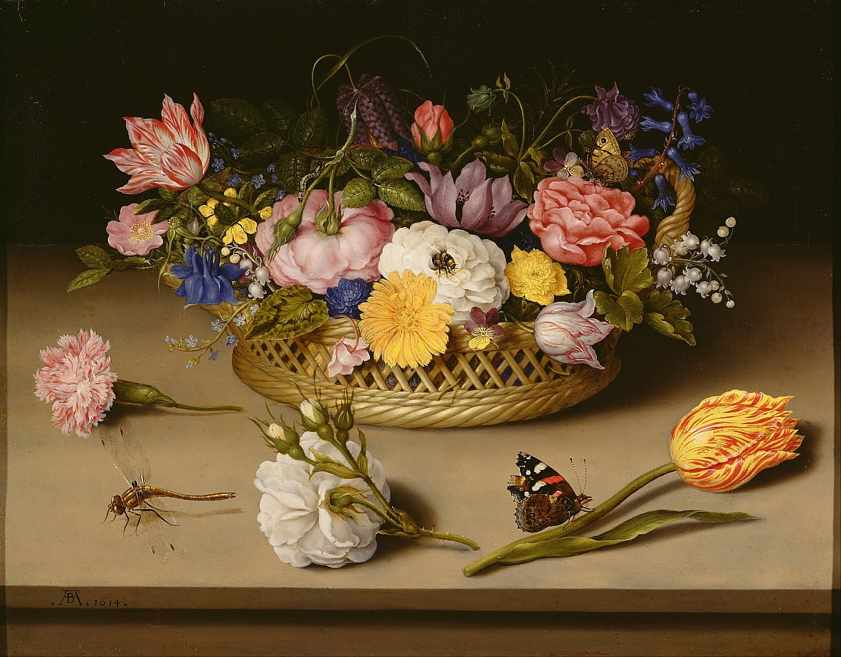 Flower Still Life by Ambrosius the Elder Bosschaert