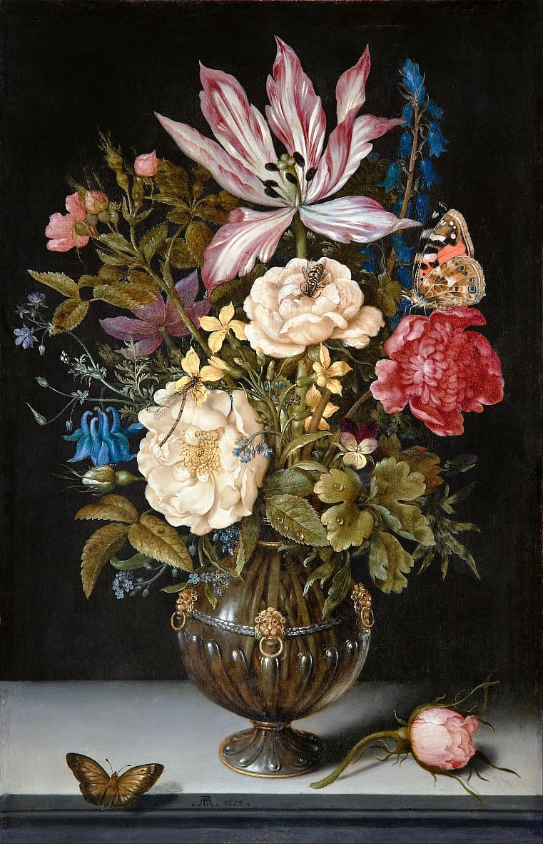 Still-Life with flowers by Ambrosius the Elder Bosschaert