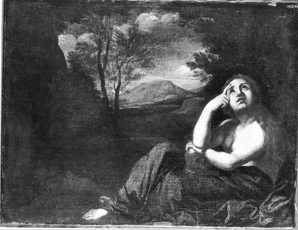 Magdalen by Annibale Carracci
