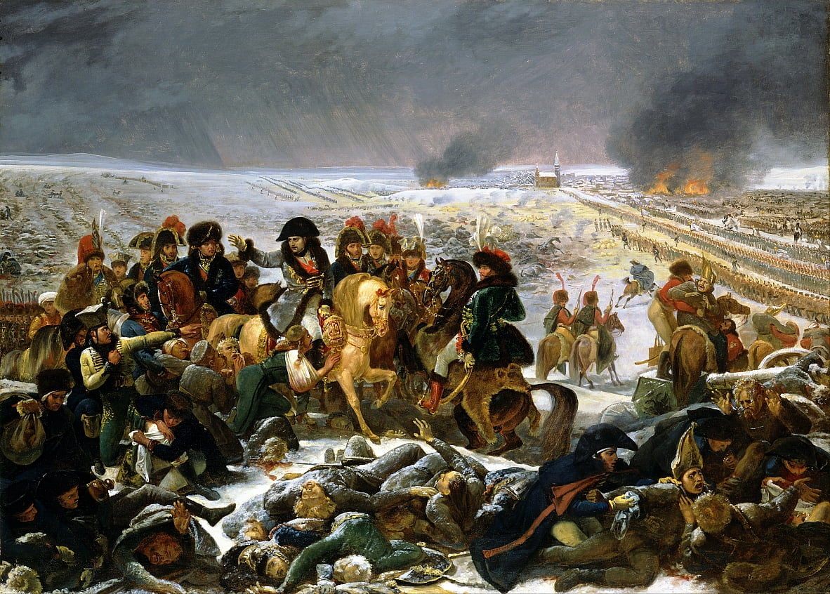 Napoleon on the Battlefield of Eylau by Antoine Jean Gros