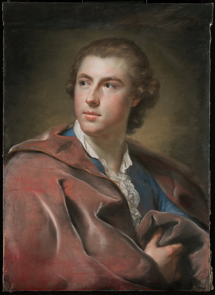 Portrait of William Burton Conyngham by Anton Raphael Mengs