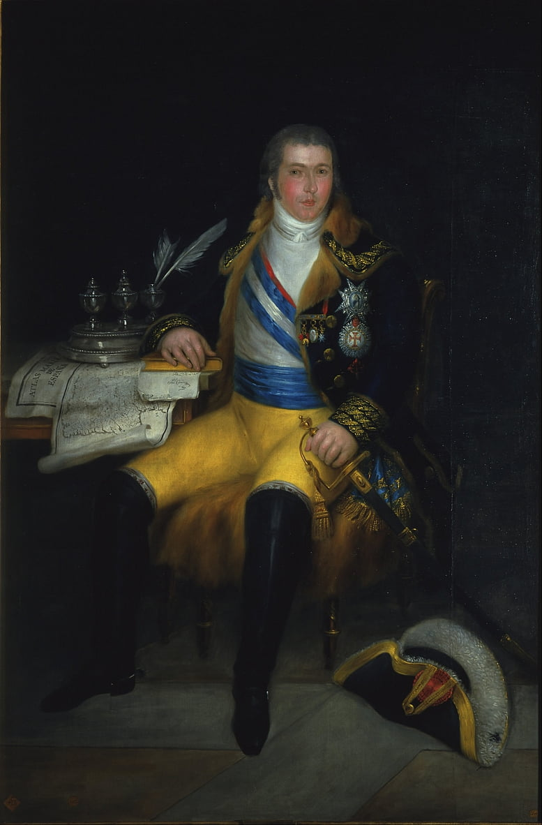 Retrato de don Manuel Godoy by Antonio Carnicero
