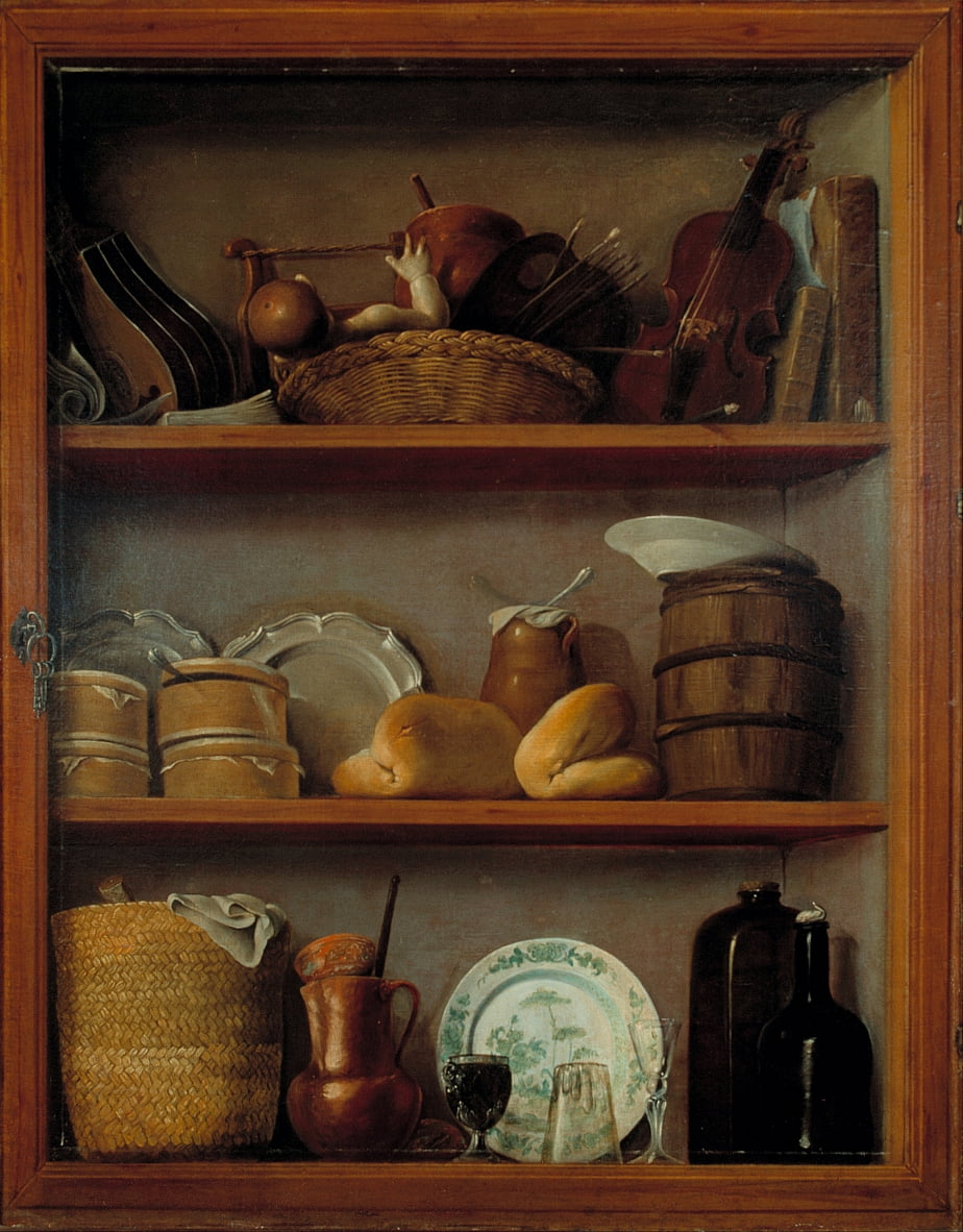 Cupboard by Antonio Pérez de Aguilar