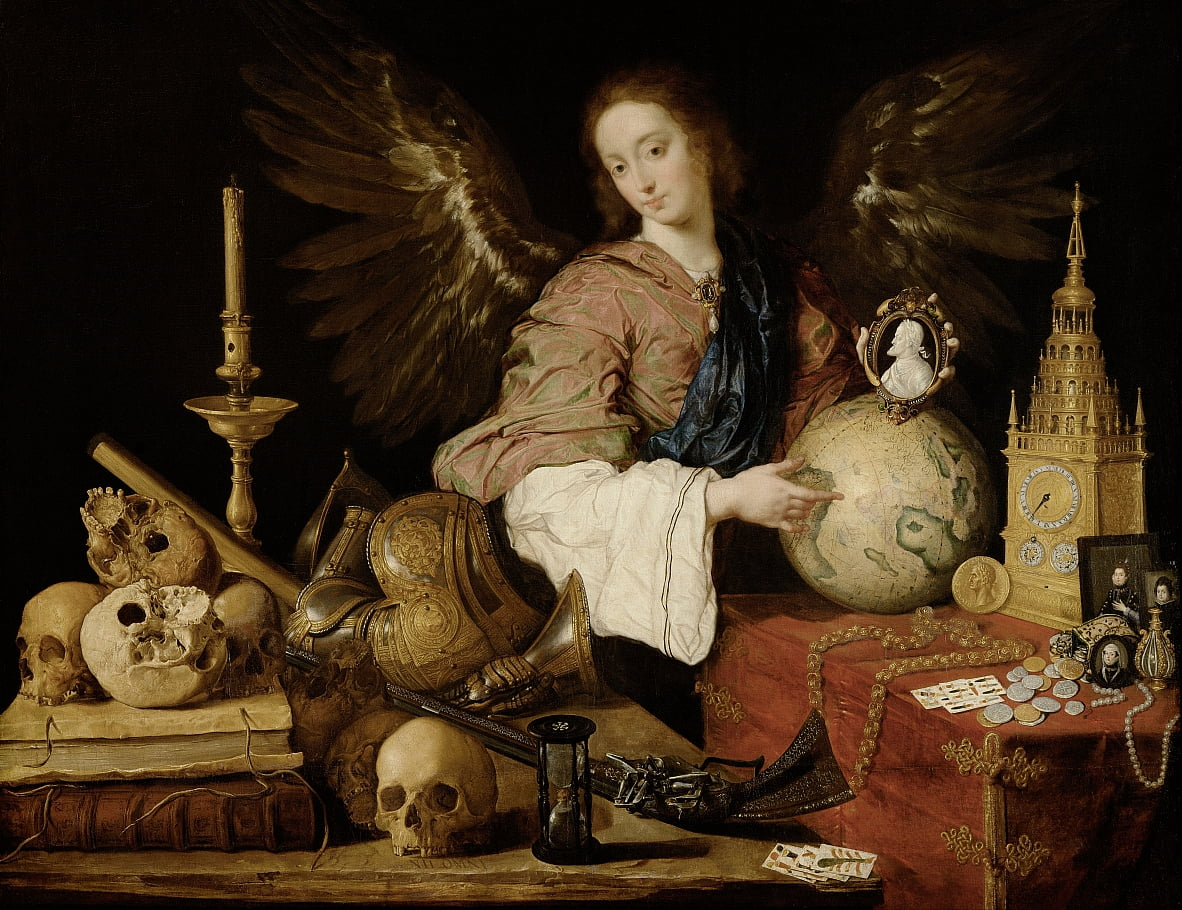 Allegory of Vanity by Antonio de Pereda