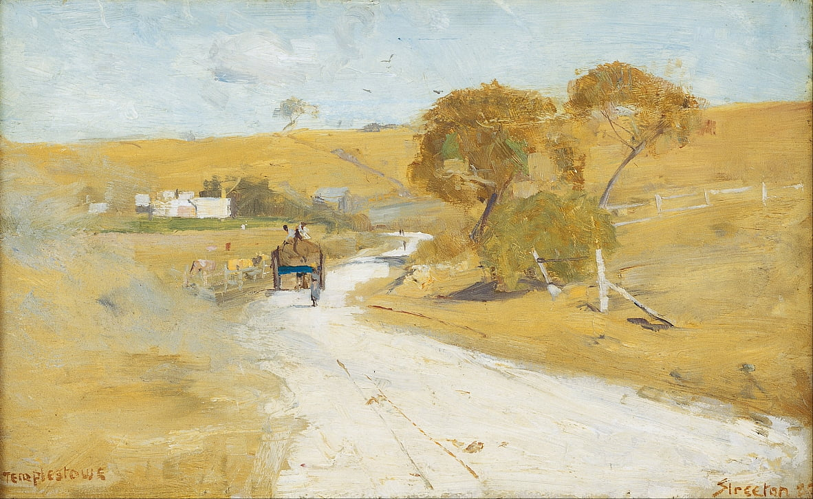 At Templestowe by Arthur Streeton