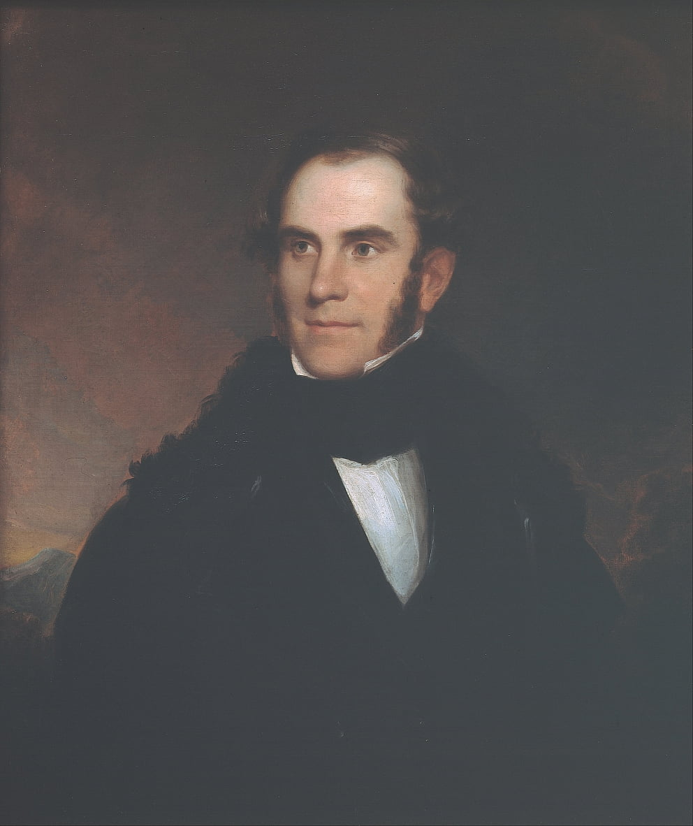 Portrait of Thomas Cole by Asher Brown Durand