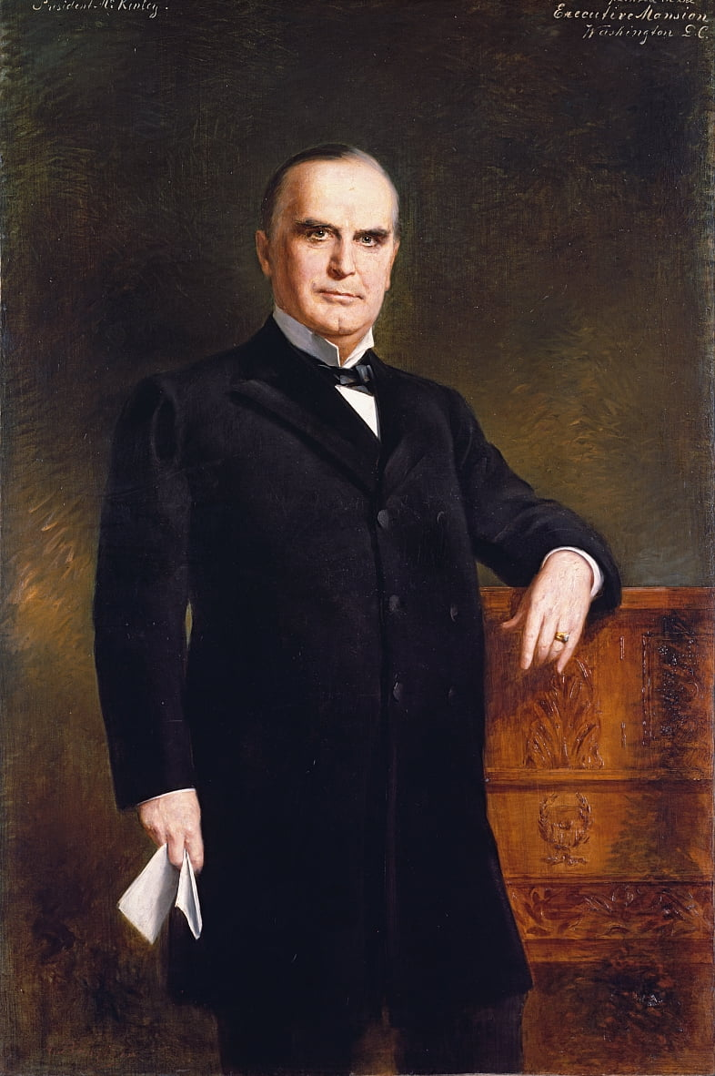 William McKinley by August Benziger