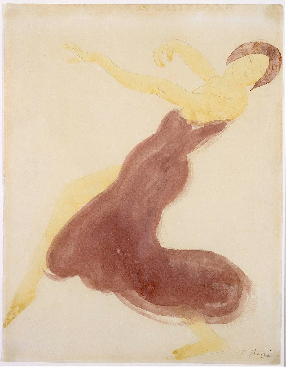Dancer by Auguste Rodin