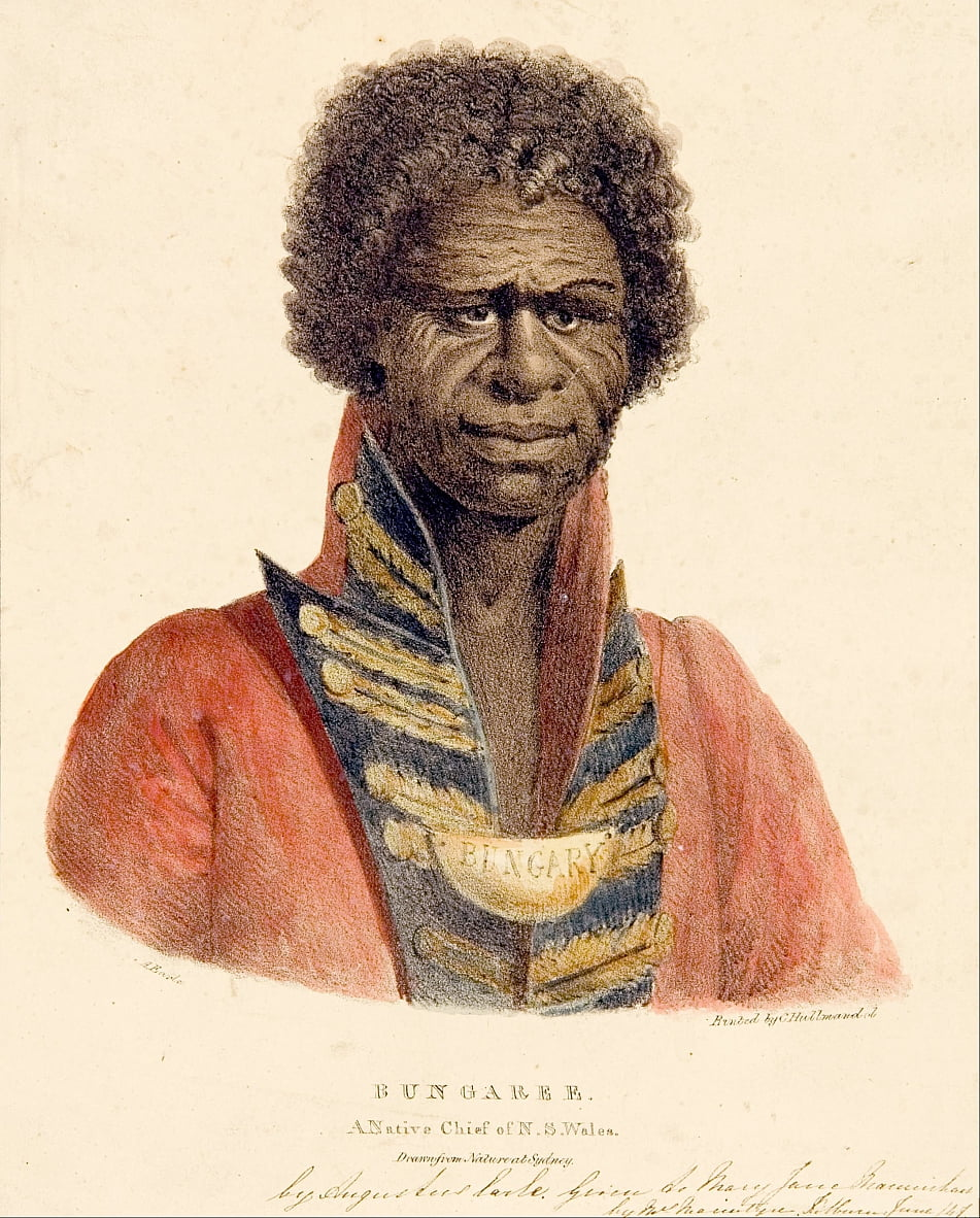 Bungaree A Native Chief of N.S. Wales by Augustus Earle