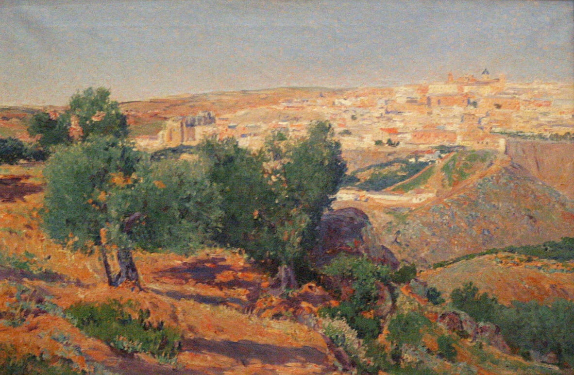 View of Toledo from La Vega Baja by Aureliano de Beruete
