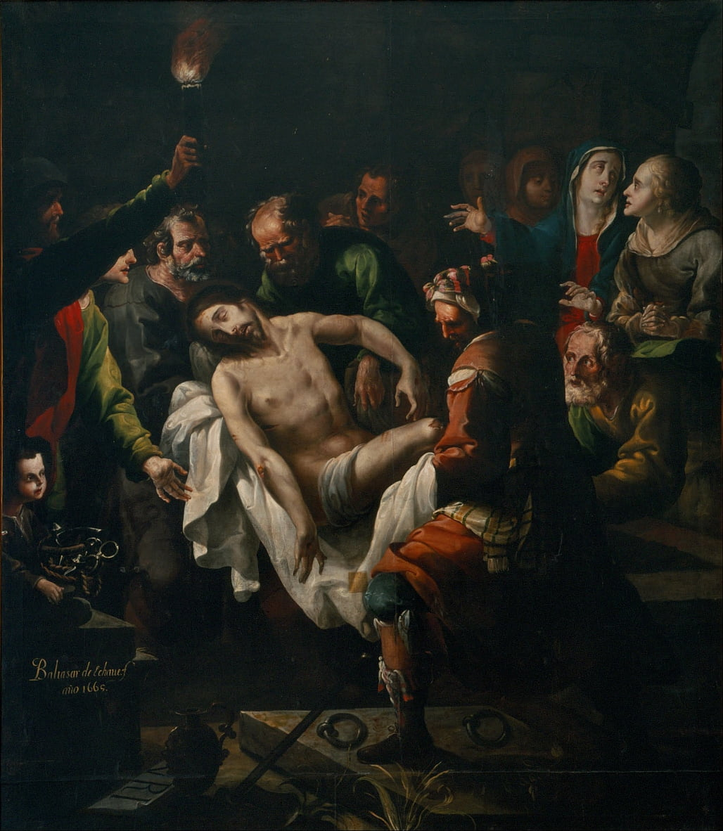 The Burial of Christ by Baltasar de Echave y Rioja