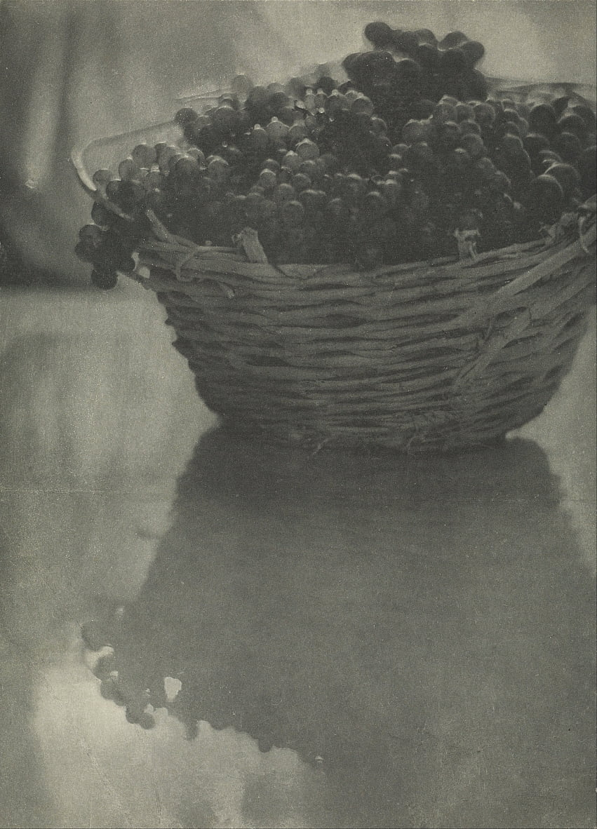 Still Life with Grapes by Baron Adolf De Meyer