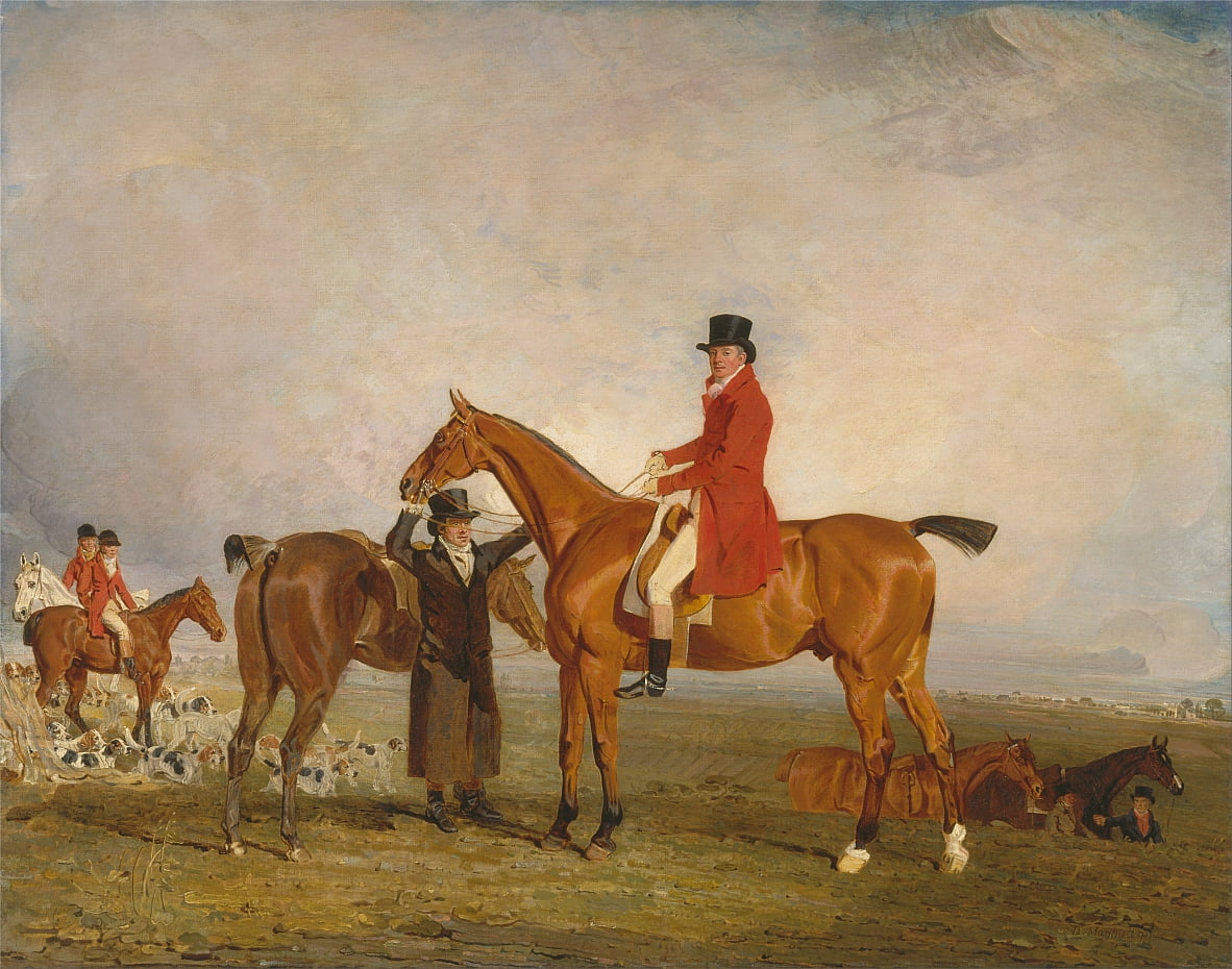 George, Marquess of Huntly (later 5th Duke of Gordon), on Tiny by Benjamin Marshall