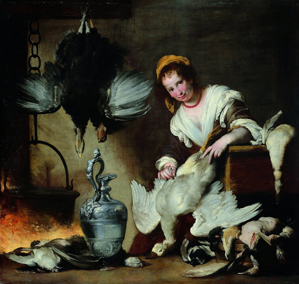 The Cook by Bernardo Strozzi