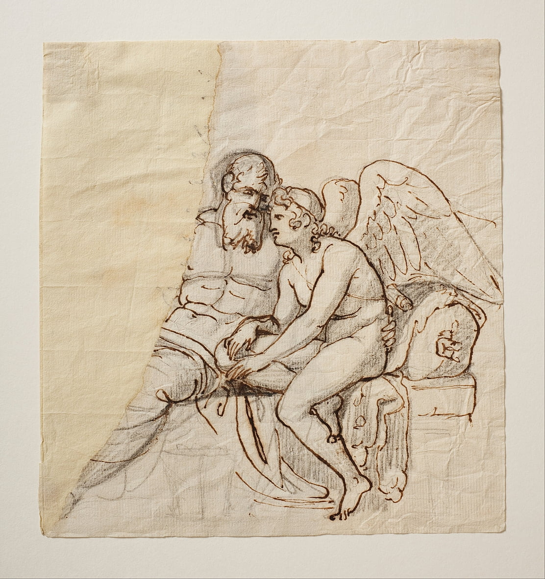 Cupid and Anacreon by Bertel Thorvaldsen