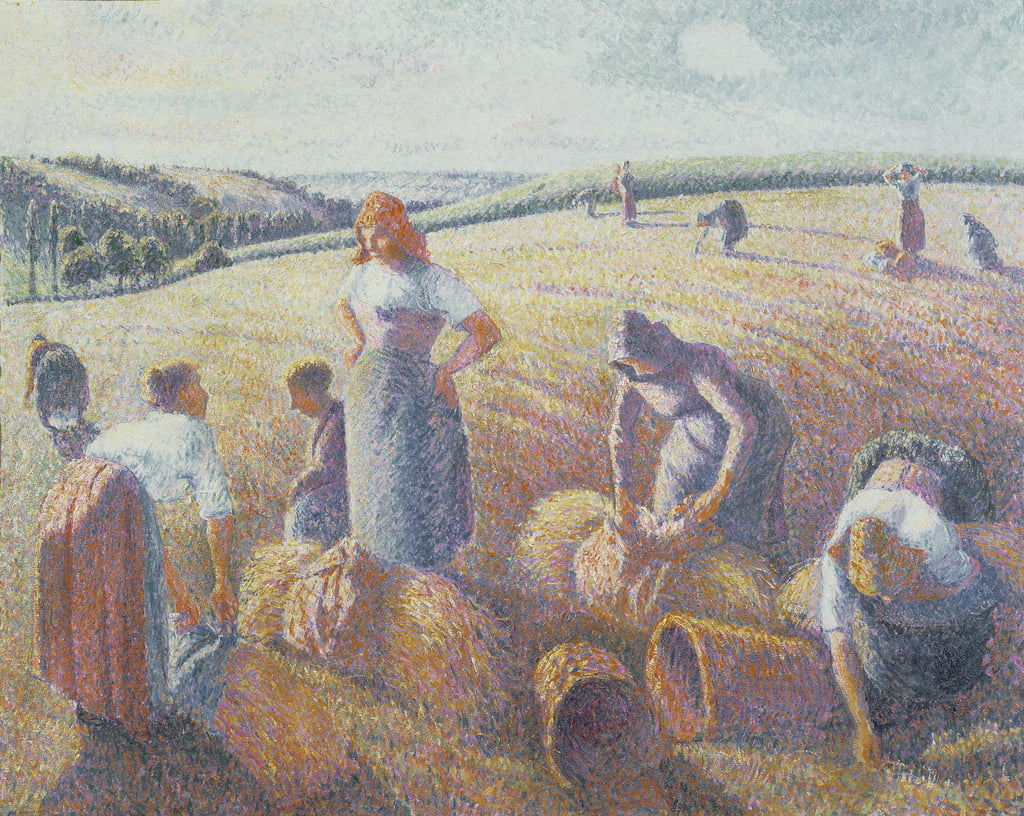 The Gleaners, 1889  by Camille Jacob Pissarro