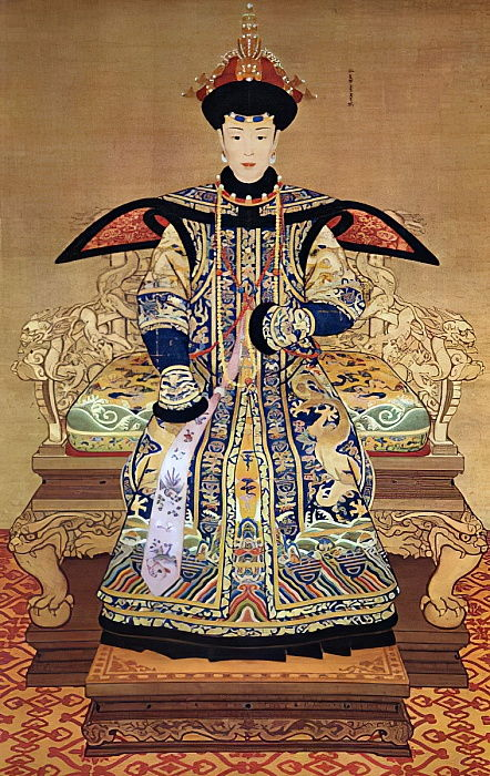 Portrait of Chinese Empress, 1600 by Chinese School