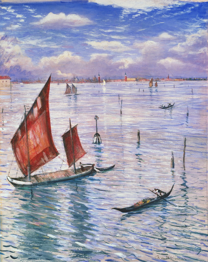 Venice from the Lido by Christopher Richard Wynne Nevinson