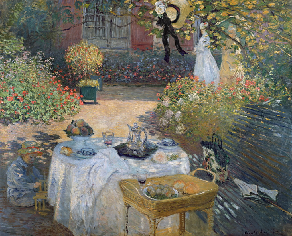 The Luncheon: Monet