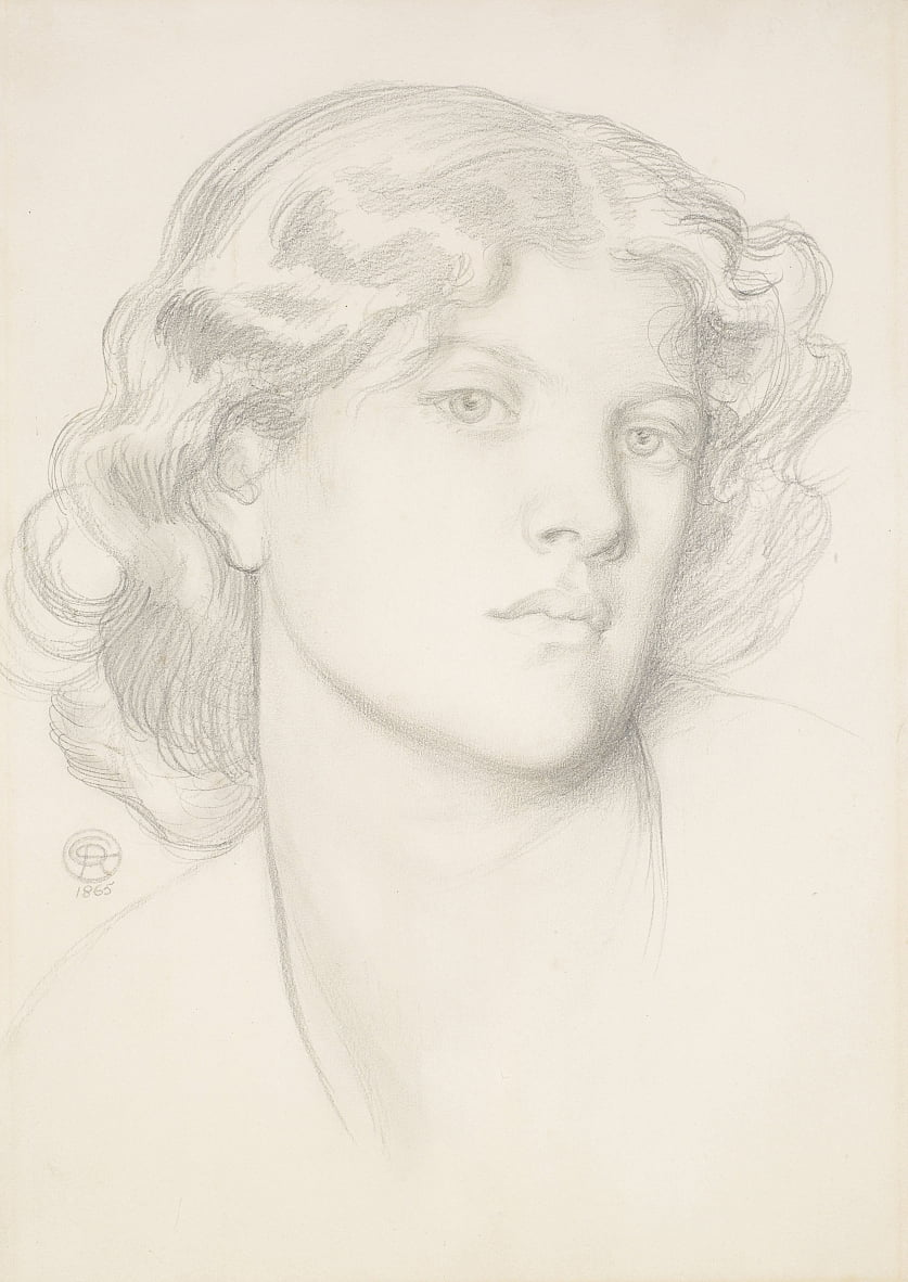 The Blue Bower by Dante Gabriel Charles Rossetti
