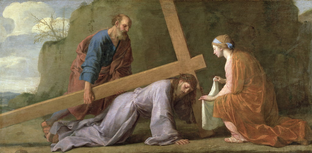 Christ Carrying the Cross, c.1651  by Eustache Le Sueur