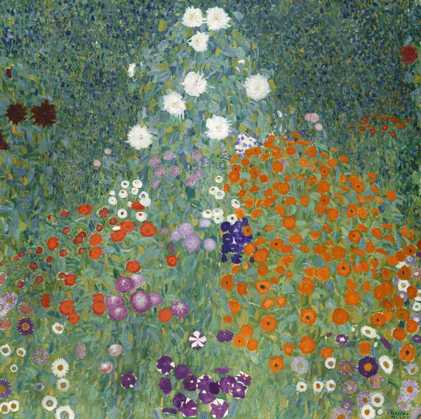 Flower Garden, 1905-07 by Gustav Klimt