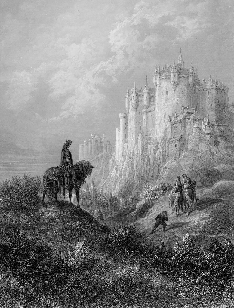 Camelot, illustration from