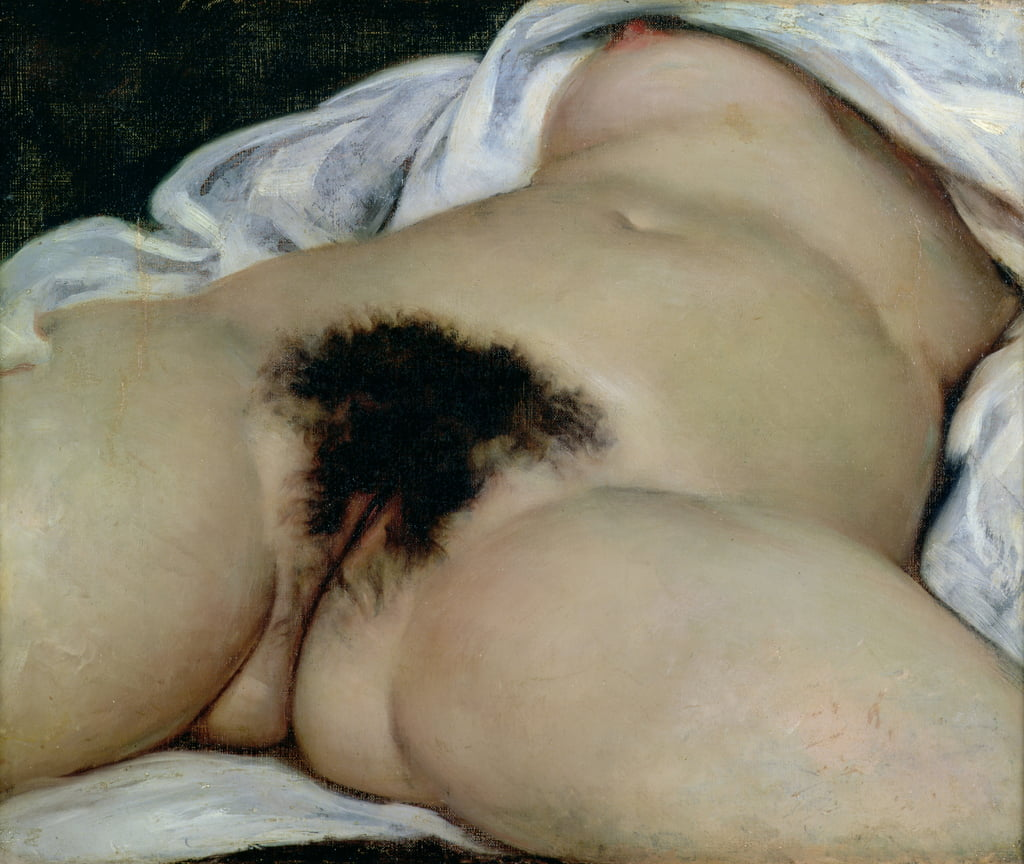 The Origin of the World, 1866  by Gustave Courbet