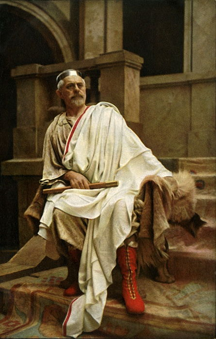 Pilate, 1922.  by Henry Traut