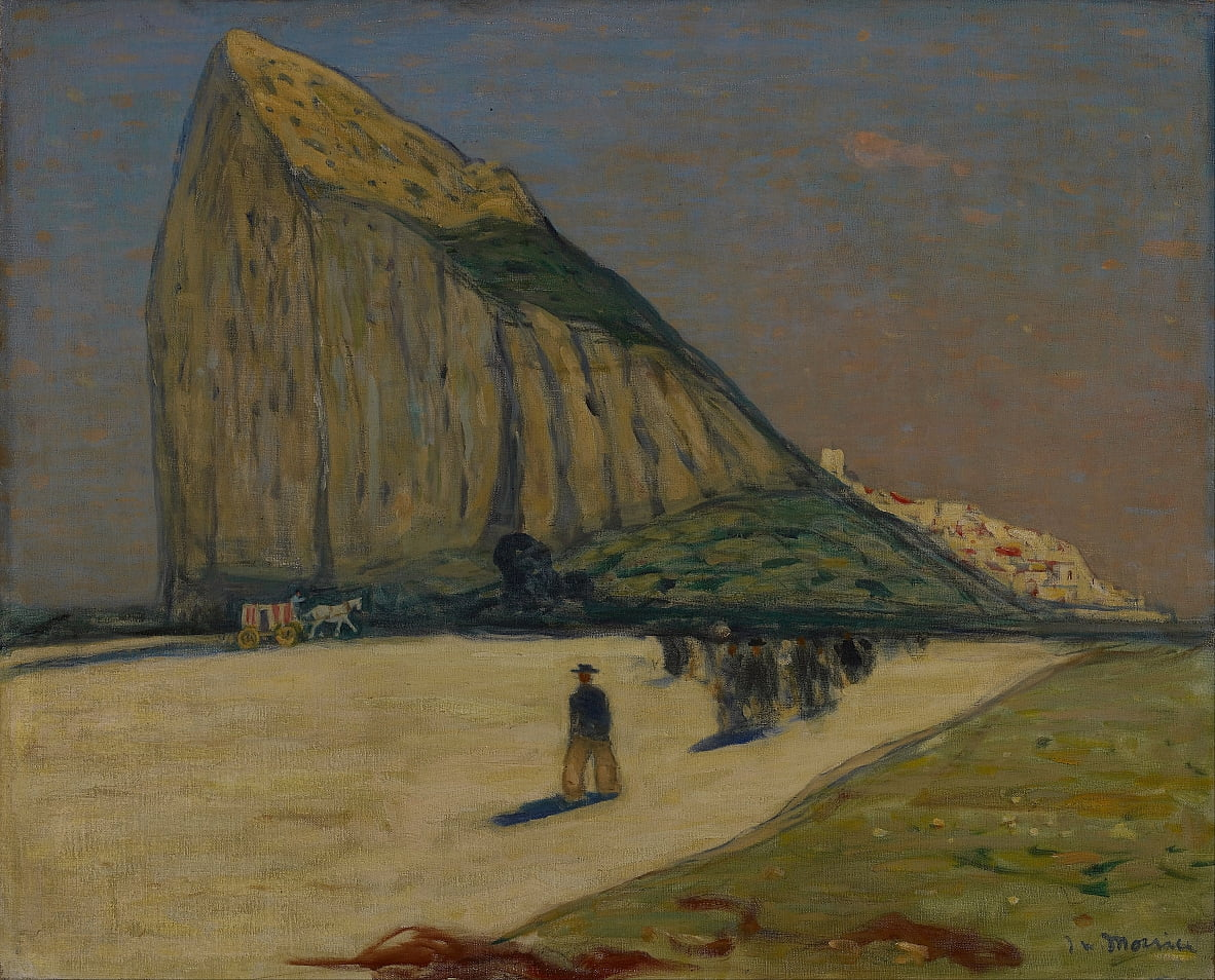 Gibraltar by James Wilson Morrice