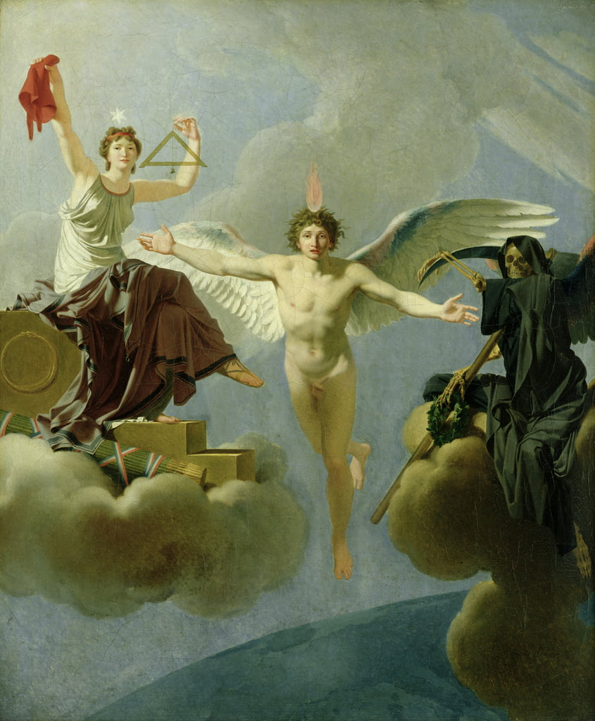 Freedom or Death, 1794-95  by Jean Baptiste Regnault
