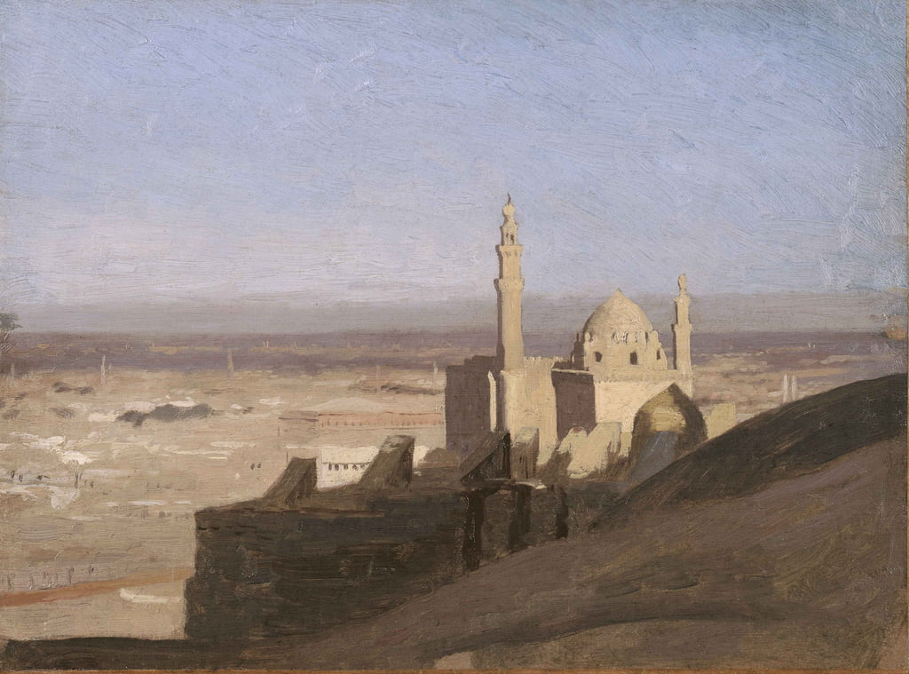 View of Cairo, c.1861-62  by Jean Leon Gerome