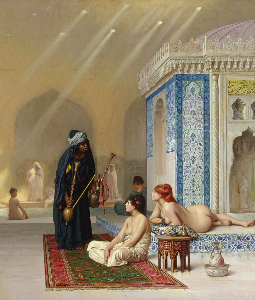 Pool in a Harem by Jean Leon Gerome