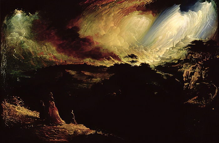 The Destruction of Sodom and Gomorrah by John Martin