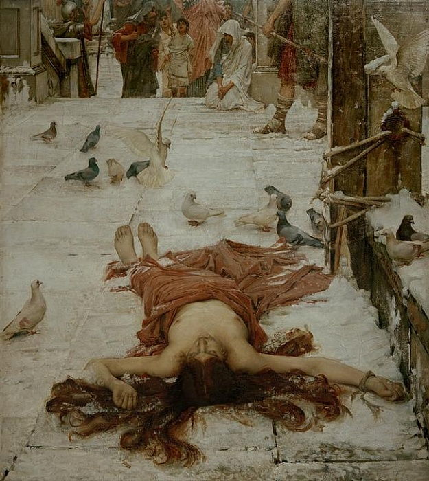 Heilige Eulalia by John William Waterhouse